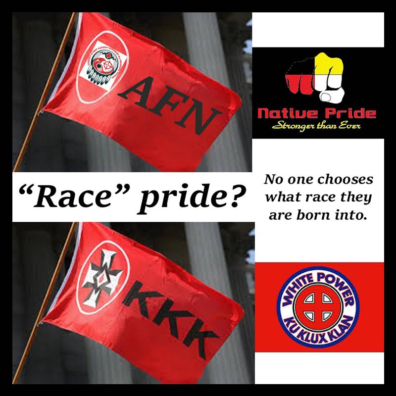 KKK AFN race pride 800x800