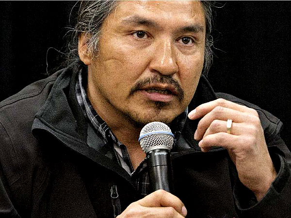 Athabasca Chipewyan Chief Allan Adams