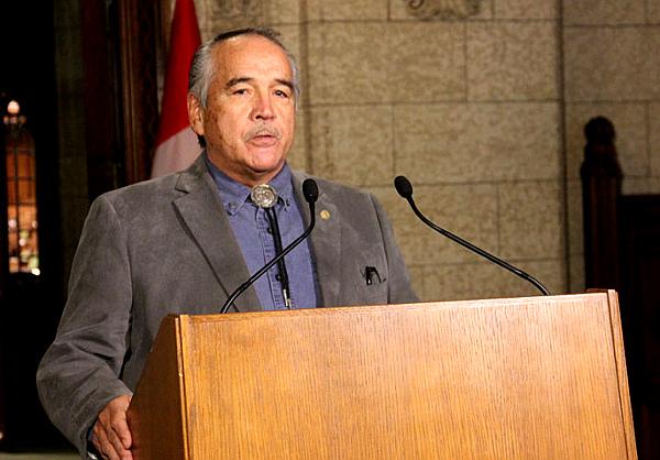 National Chief Dwight Dorey of CAP