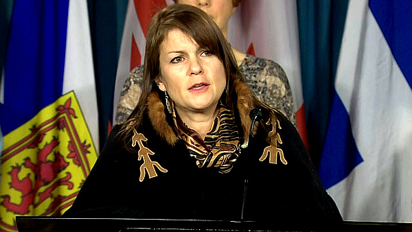 NWAC President Dawn Lavell-Harvard