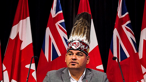 (PHOTO: Canadian Press-Aaron Vincent Elkaim)