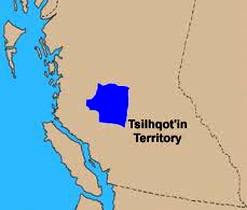 Chilcotin 'Territory' Map