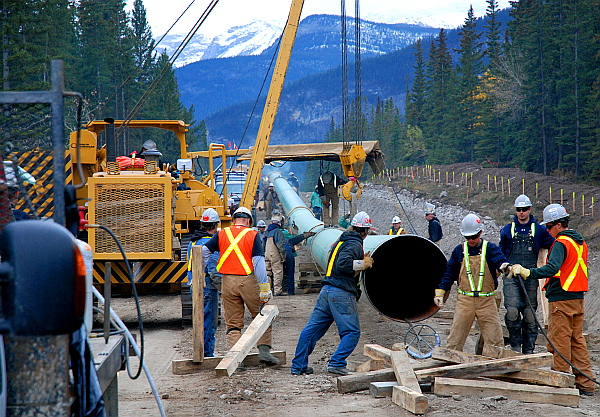 TransMountainPipelineConstruction
