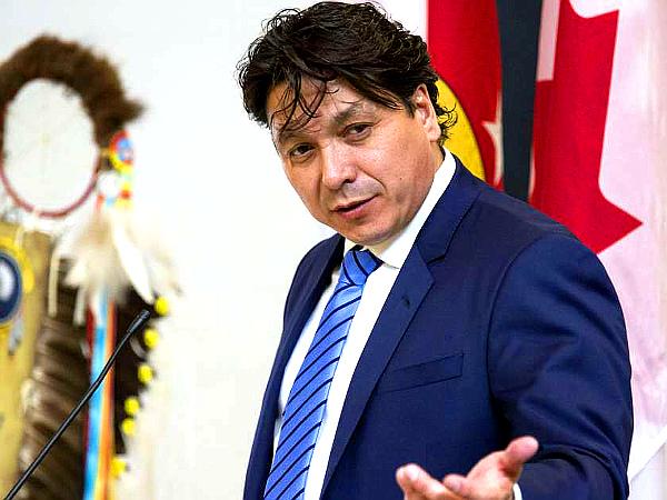 Whitecap Dakota 'First Nation' Chief Darcy Bear (GORD WALDNER--THE STARPHOENIX)