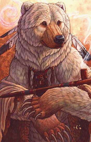 'Bear of Peace', Christy Grandjean