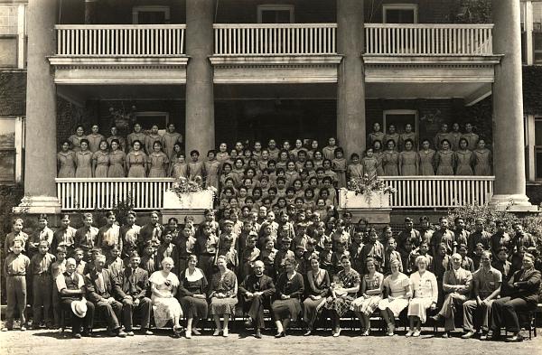 Mohawk Institute, circa 1934 (Photo: Carl Studios)