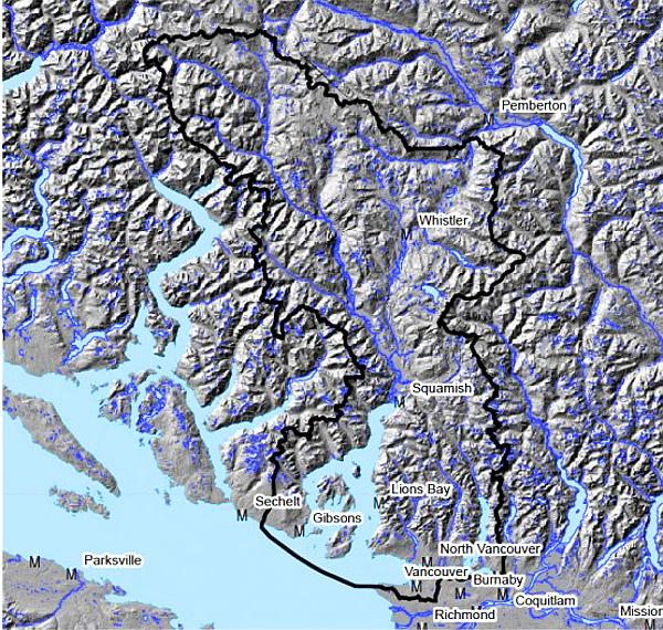 Squamish 'Traditional Territory' claim (B.C. Treaty Commission)