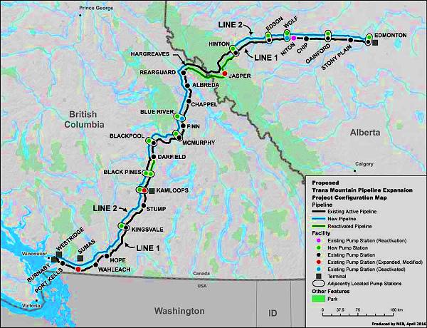 'Trans Mountain' Pipeline