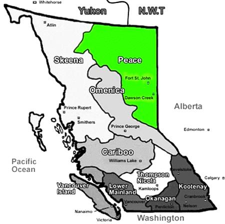 B.C. regions
