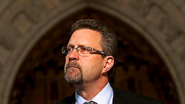 Chuch Strahl (Sean Kilpatrick --The Canadian Press)