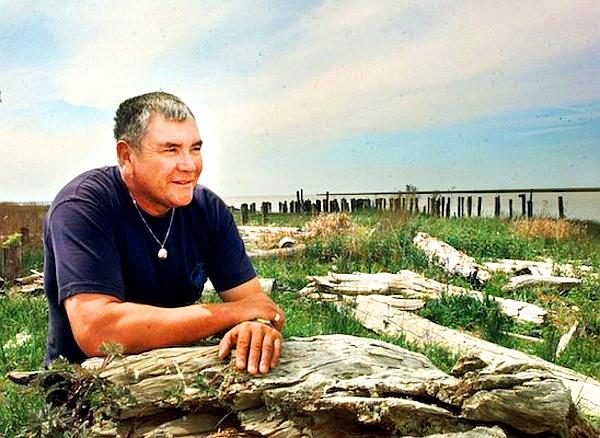 'Wannabe Chief' Ray 'Rocky' Wilson (IAN LINDSAY -- VANCOUVER SUN FILES)