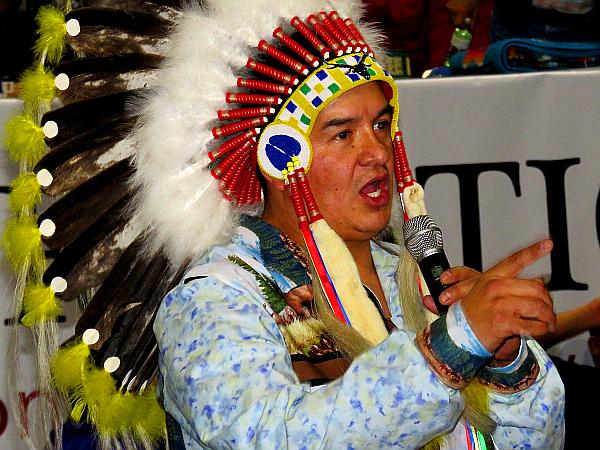 FSI'N' Chief Bobby Cameron. ('Treaty 4' News file photo)
