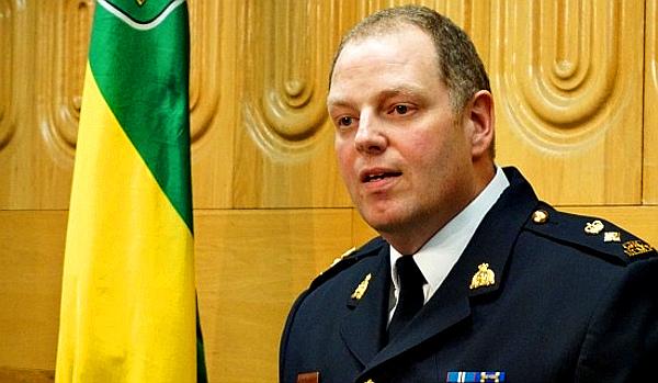 Superintendent Rob Cameron – Saskatchewan RCMP (PHOTO - Christina Cherneskey)