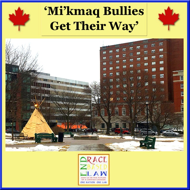 ERBL 'Mi_kmaq Bullies Get Their Way_